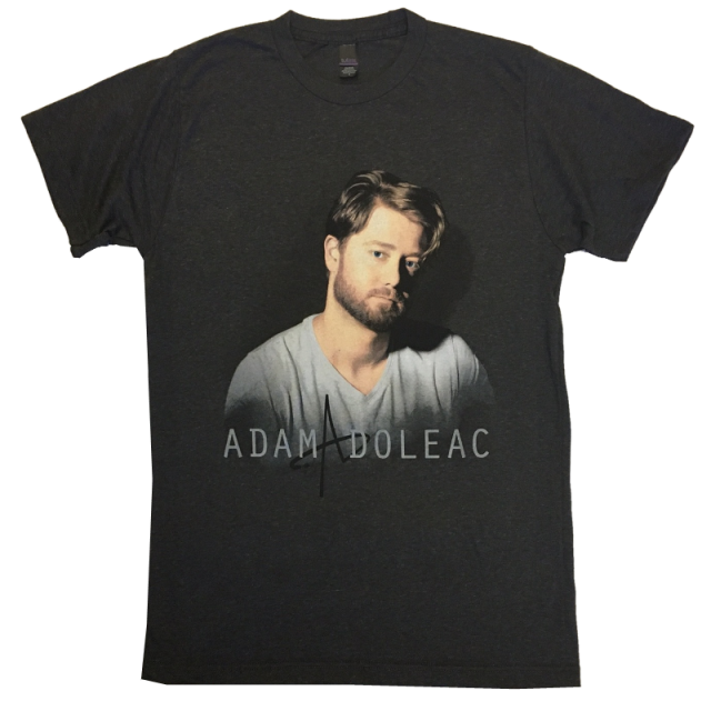 Adam Doleac Heather Graphite Photo Tee