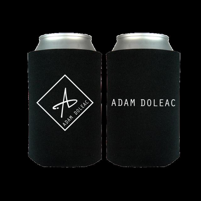 Adam Doleac Black Logo Can Coolie